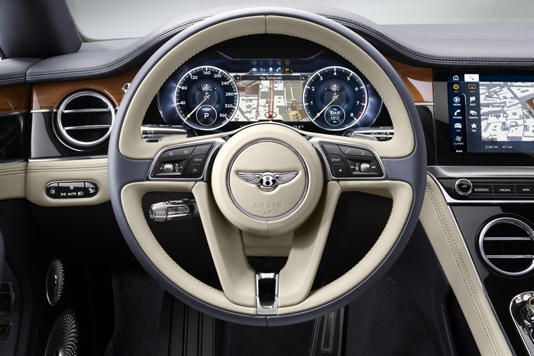 Gallery: As well as the infotainment unit, the driver gets a high-res instrument panel too.