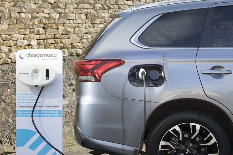 Plugged-in Outlander PHEV