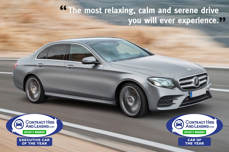 ContractHireAndLeasing.com Car of the Year 2016/17 - Mercedes Benz E-Class