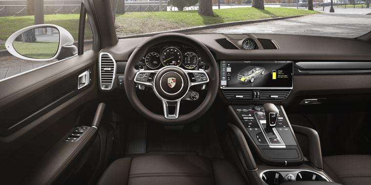 Porsche Cayenne E-Hybrid 2018 interior