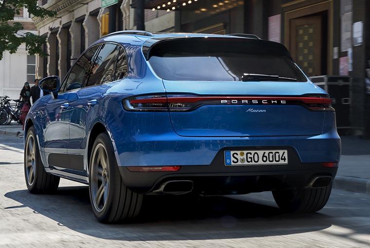 Porsche Macan 2018 rear