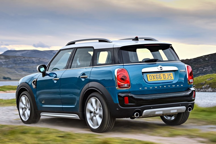 Mini Countryman 2017 Rear