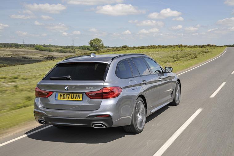 BMW 5 Series Touring rear