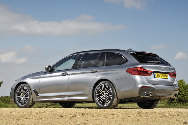 BMW 5 Series Touring side