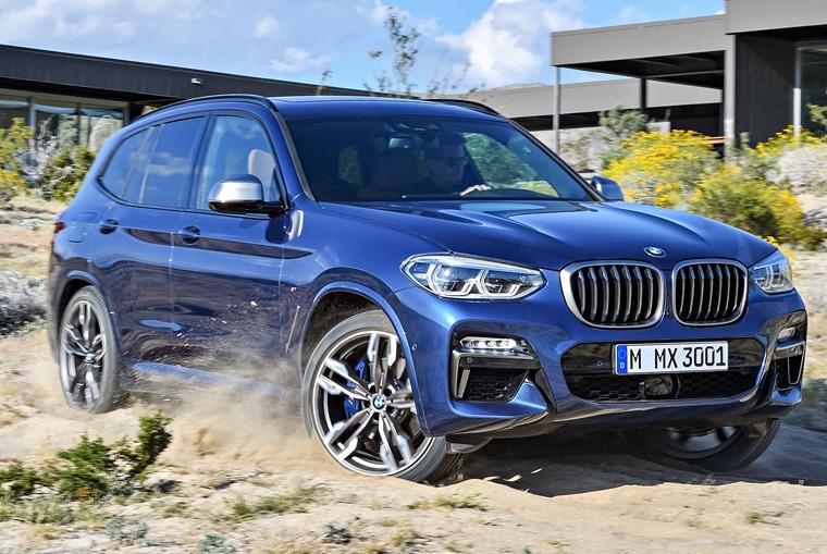 New BMW X3 lead