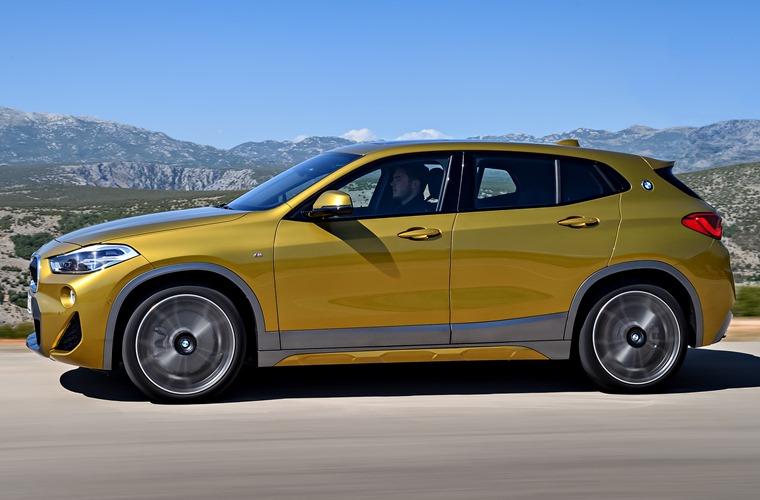 BMW X2 side