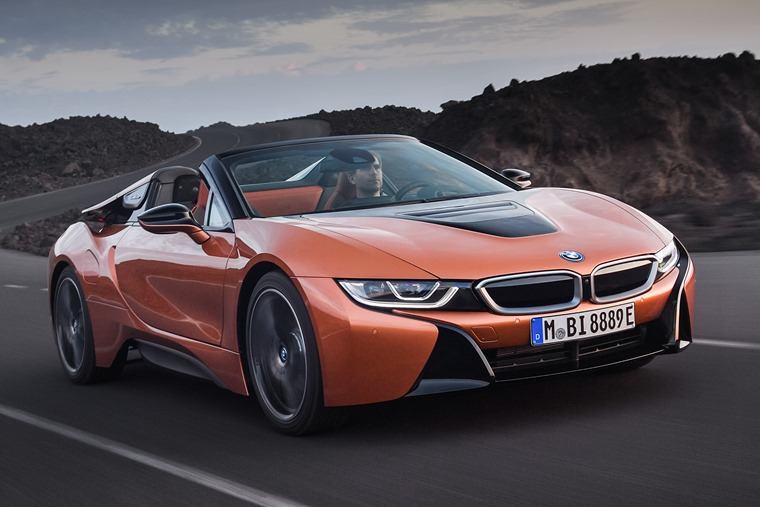 The BMW i8 Roadster has officially been revealed.