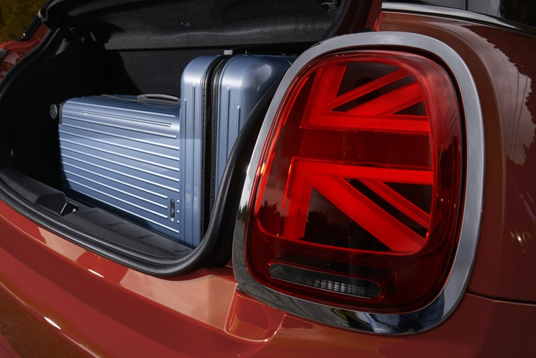 Controversial? Some might think so, but these Union flag taillights are standard on UK cars.