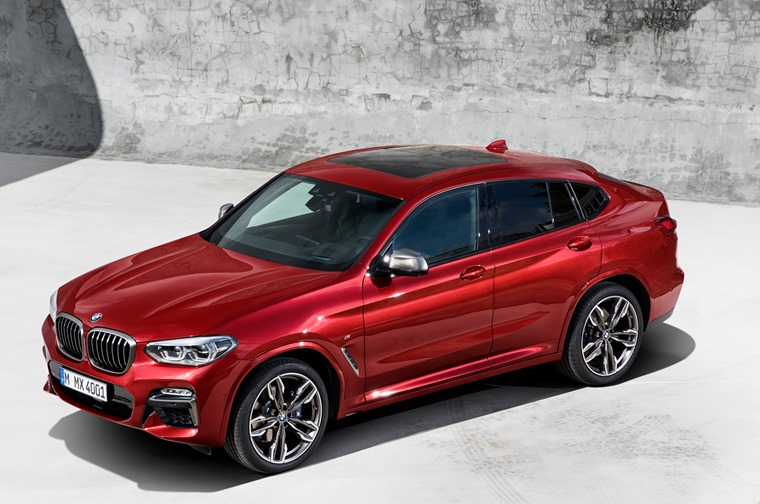 The new BMW X4 xDrive M40d 2018 Geneva Motor Show