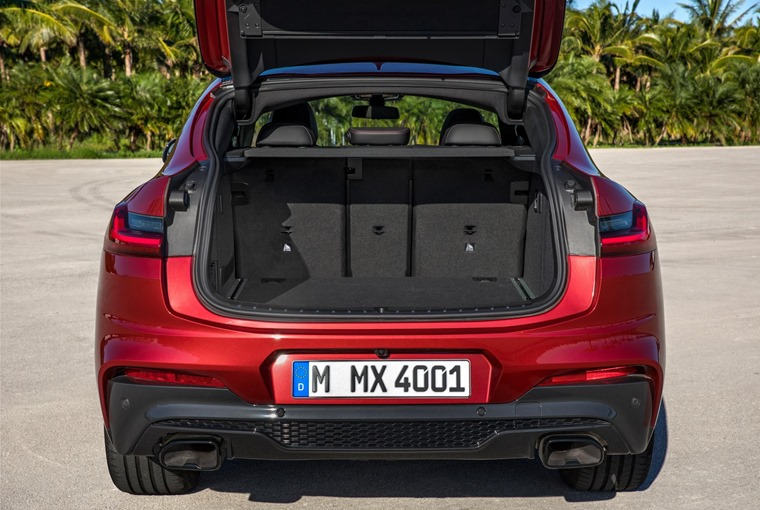Despite the sporty desirable looks, compared to its predecessor the X4 is a more practical car thanks to increased passenger and boot space.