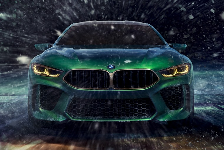 BMW M8 Gran Coupe concept front