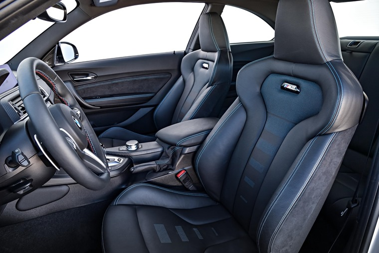 BMW M2 Competition sports seats
