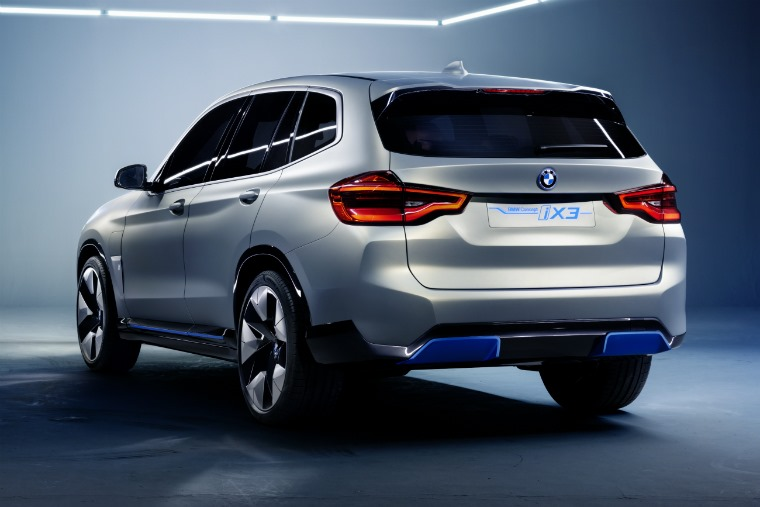 BMW iX3 concept 2018 rear