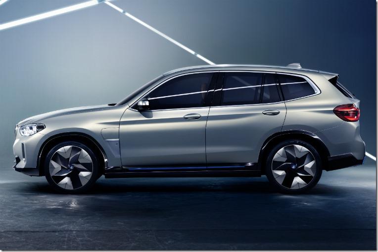 BMW iX3 concept 2018 side