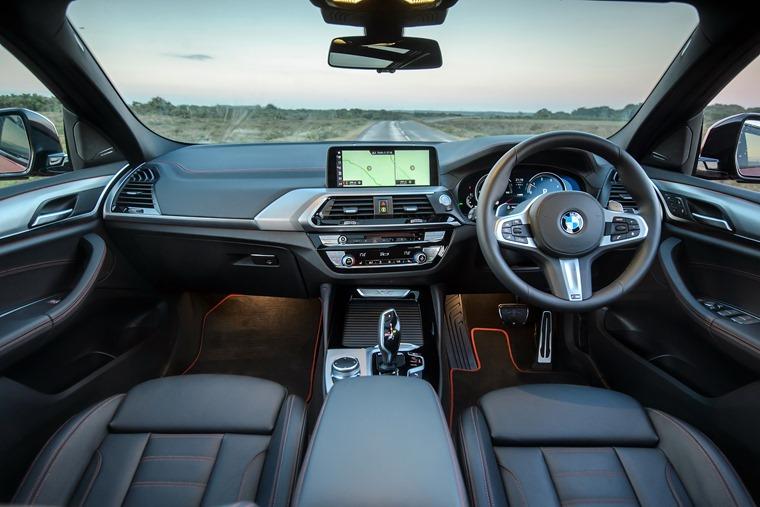BMW X4 2018 interior
