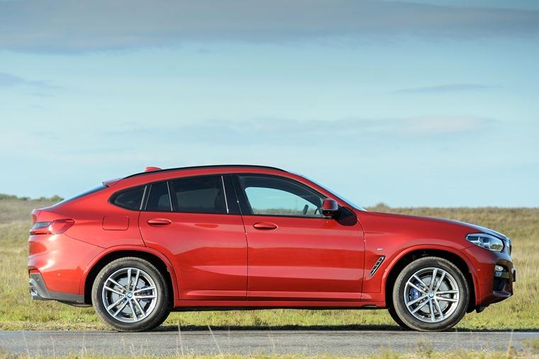 BMW X4 2018 side