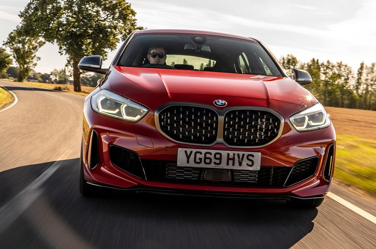 Range topping BMW M135i xdrive 0-62 in 4.8s