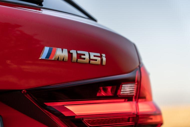 Range topping BMW M135i xdrive differs slightly