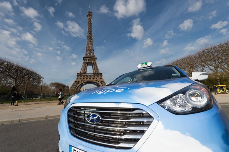 The Hyundai ix35 is one of the few fuel cell hydrogen cars on the market.