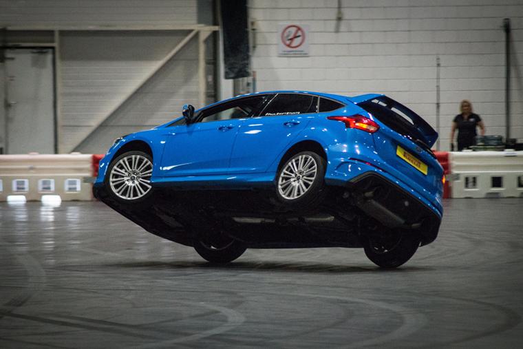 Paul Swift's Stunt driving show