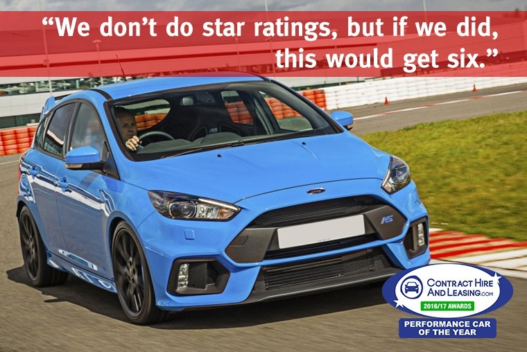 Best Performance Car - Ford Focus RS