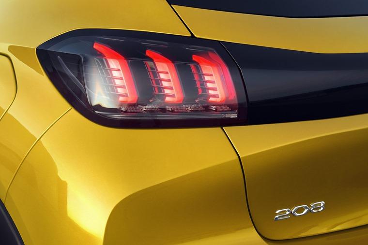 Peugeot 208 detail
