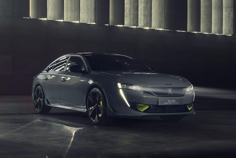 Peugeot 508 Sport Engineered Concept front
