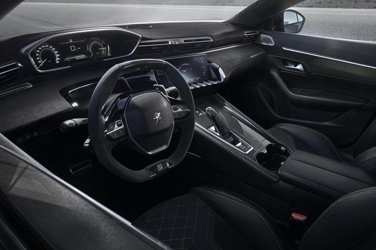 Peugeot 508 Sport Engineered concept interior