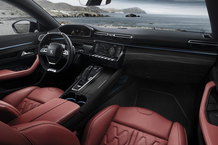 Peugeot 508 SW 2019 interior