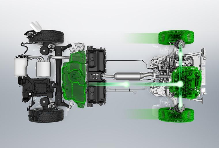 Peugeot hybrid platform