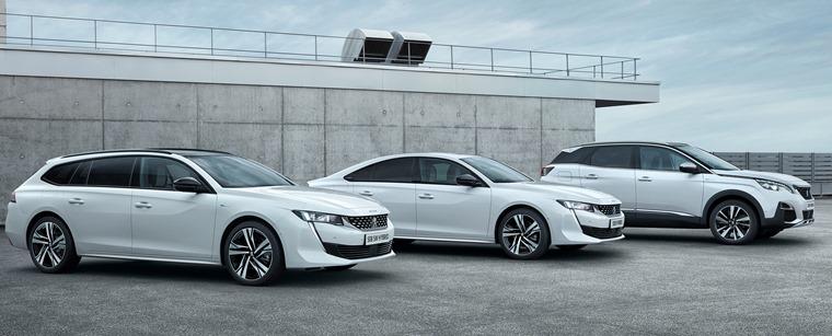 Peugeot hybrid range 2019