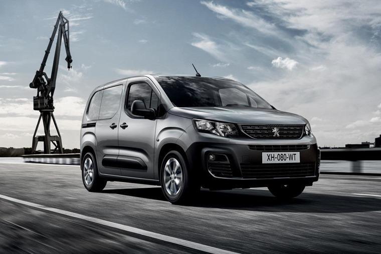 Peugeot Partner 2018 front