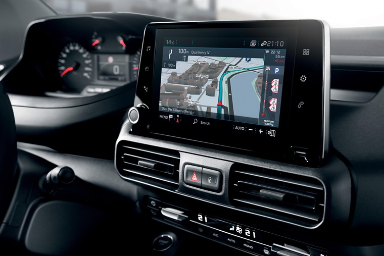 Peugeot Partner 2018 touchscreen