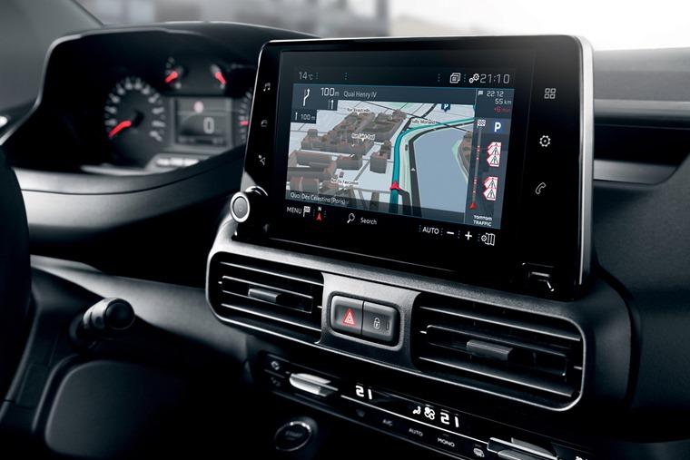 Peugeot Partner 2018 touchscreen
