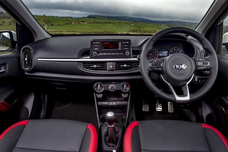 Picanto GT Line-S interior