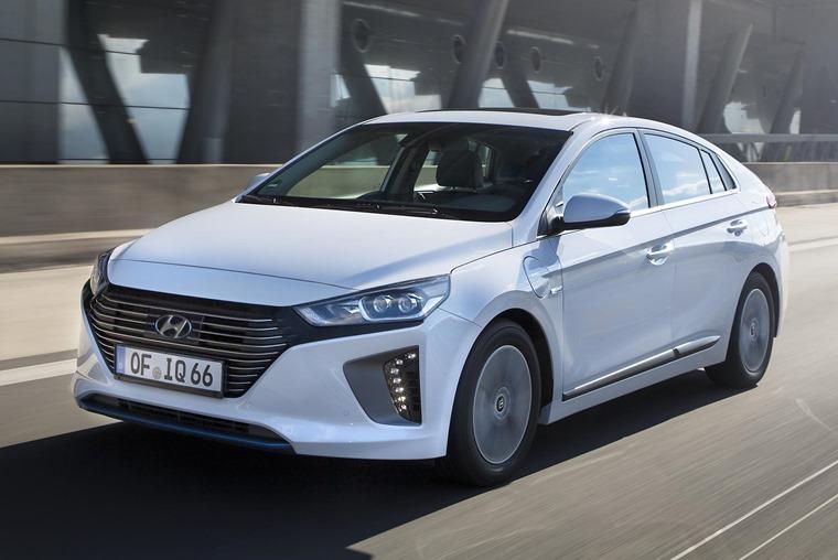Hyundai Ioniq Plug-in front
