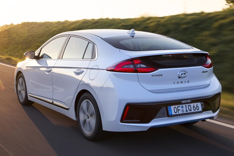Hyundai Ioniq Plug-in rear