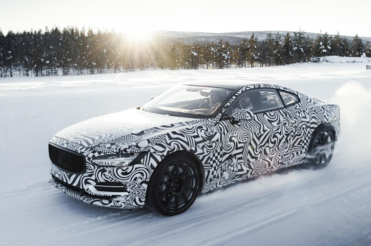 Test drivers focused specifically on Polestar 1's torque vectoring system