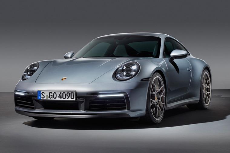 Porsche 911 992 front