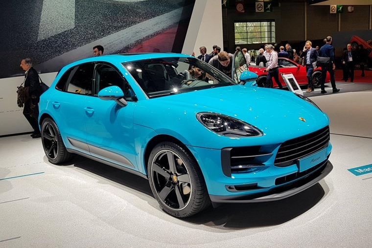 Porsche Macan Paris Motor Show