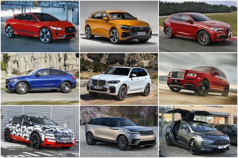 Premium SUVs lead image