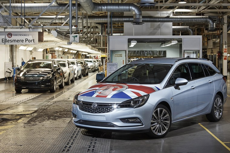 The Vauxhall Astra Sports Tourer is built at Ellesmere Port, but will it have its contract renewed after 2021?