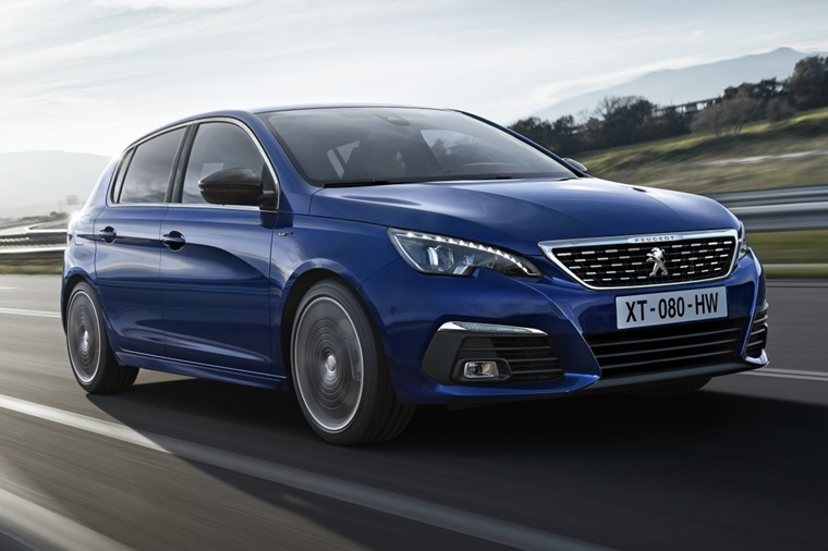 The updated Peugeot 308 gets styling updates and a host of new tech.
