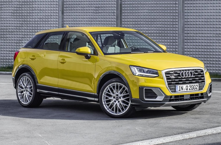 Audi Q2 can now be ordered with a 2.0-litre TFSI petrol producing 187bhp.