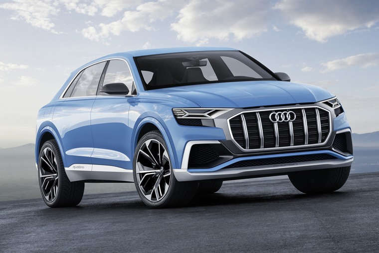 Audi's Q8 concept gives us an idea of what we can expect from the real one.