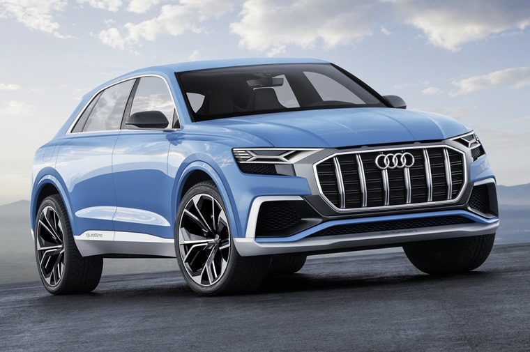 All-new Audi Q8 will sit above Q7 in range with concept getting all-new hybrid option.
