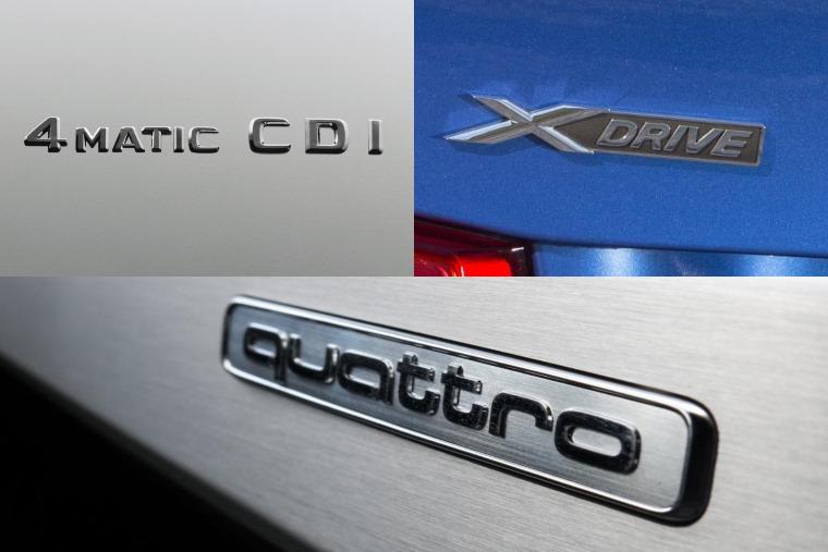 quattro vs xDrive vs 4Matic