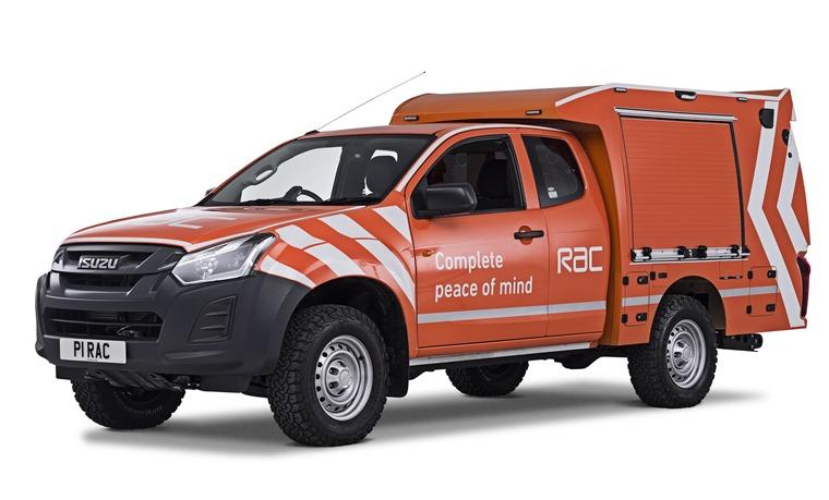 RAC HD 4x4 Patrol Van angle