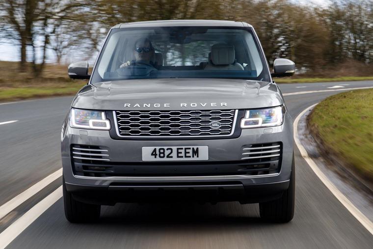 Range Rover 2020 front