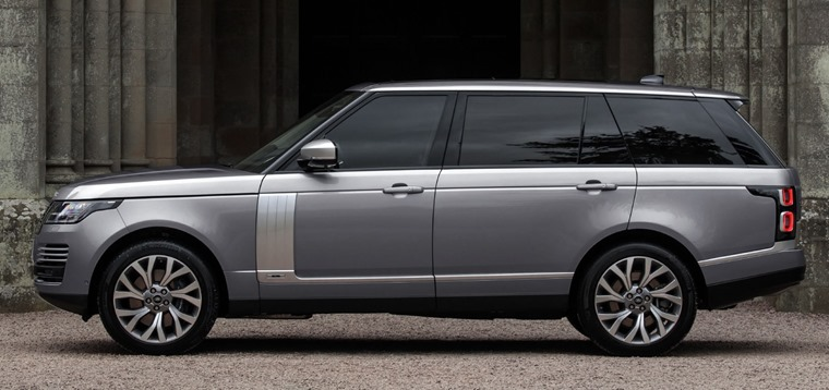 Range Rover 2020 side